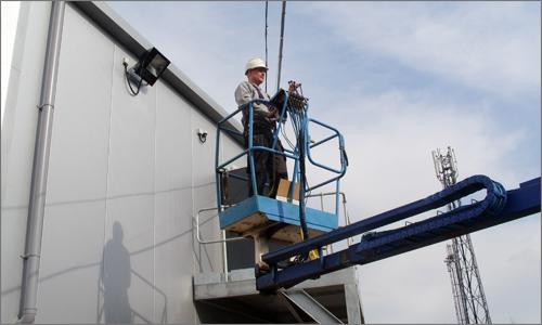 Man Lift at SUFC
